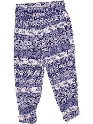 Pantalon fille M&CO bleu 5 ans été #1330140_1