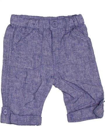 Pantalon garçon SANS MARQUE violet 6 mois été #1330262_1