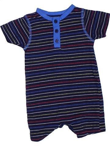 Combinaison courte garçon NUTMEG bleu naissance été #1330269_1