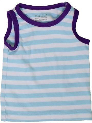 T-shirt sans manches fille H&M bleu 6 mois été #1330291_1