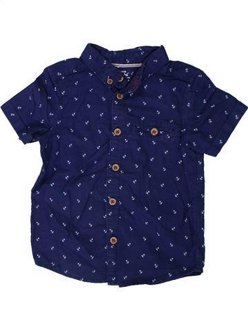 Chemise manches courtes garçon PRIMARK bleu 3 ans été #1330421_1