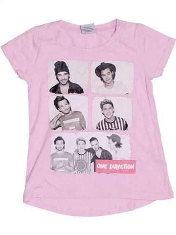 Camiseta de manga corta niña DUNNES STORES rosa 9 años verano #1330438_1