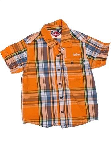Chemise manches courtes garçon LEE COOPER orange 3 ans été #1330480_1