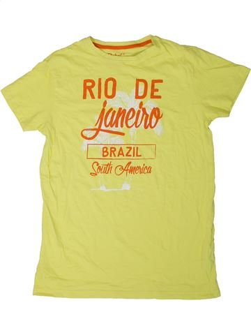 Camiseta de manga corta niño PRIMARK amarillo 13 años verano #1330810_1