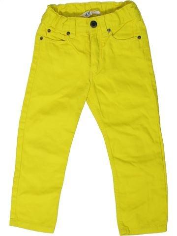 Jean garçon H&M jaune 3 ans été #1330906_1