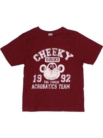 T-shirt manches courtes garçon TU rouge 3 ans été #1331012_1