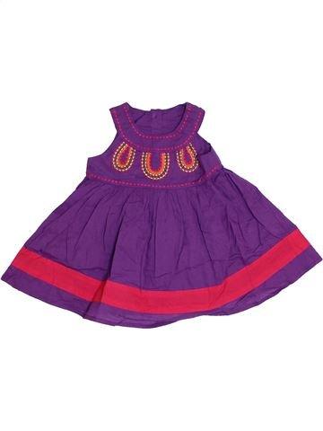Robe fille GEORGE violet 6 mois été #1331034_1