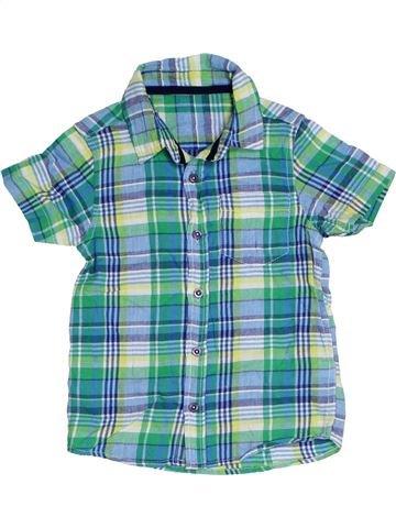 Chemise manches courtes garçon TU bleu 4 ans été #1331150_1