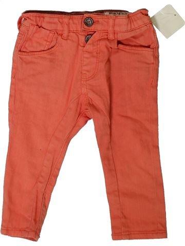 Pantalon garçon ZARA rose 12 mois été #1331158_1