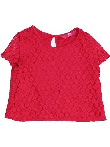 Blouse manches courtes fille PRIMARK rouge 8 ans été #1331249_1