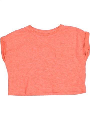 T-shirt manches courtes fille DUNNES STORES orange 3 ans été #1331258_1