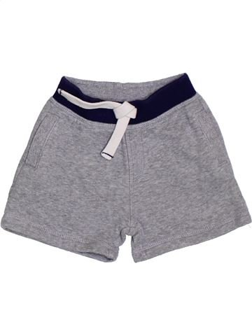 Short - Bermuda garçon MATALAN gris 6 mois été #1331288_1