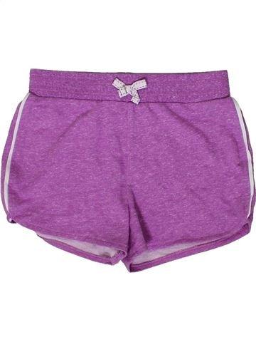 Short - Bermuda fille GEORGE violet 7 ans été #1331306_1
