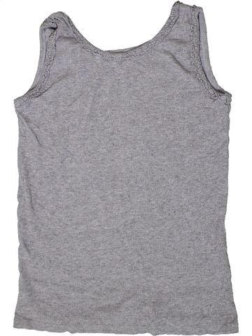 T-shirt sans manches fille I LOVE GIRLSWEAR gris 11 ans été #1331312_1