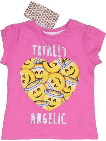 T-shirt manches courtes fille BRAVADO rose 2 ans été #1331331_1