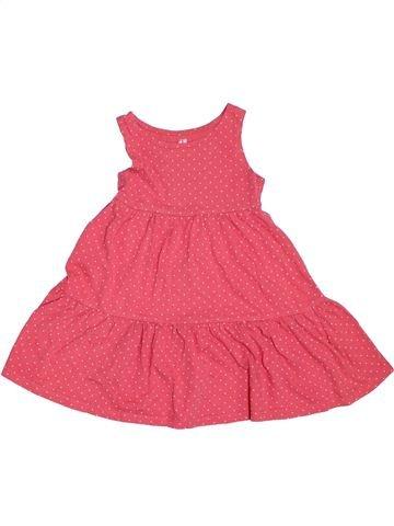 Robe fille H&M rose 4 ans été #1331394_1