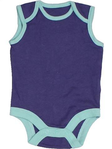 Débardeur garçon TU violet naissance été #1331407_1