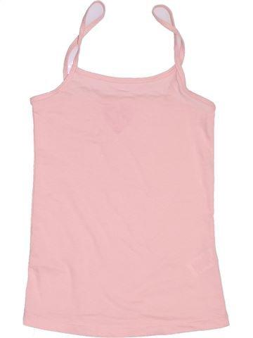 T-shirt sans manches fille PRIMARK rose 8 ans été #1331451_1