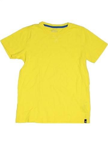 T-shirt manches courtes garçon JAKO-O jaune 11 ans été #1331469_1