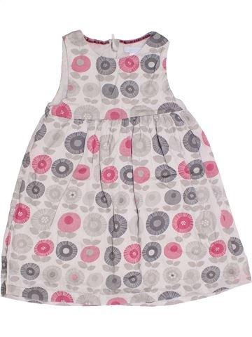 Robe fille OKAIDI rose 2 ans été #1331490_1