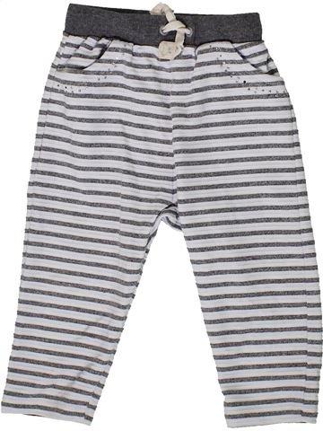 Pantalon fille RIVER ISLAND blanc 3 ans été #1331510_1
