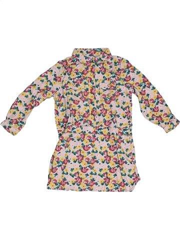 Robe fille PETIT BATEAU beige 3 ans hiver #1331539_1