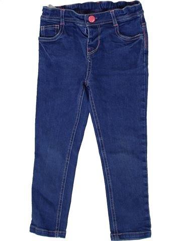 Jean fille MINI CLUB bleu 4 ans hiver #1331588_1