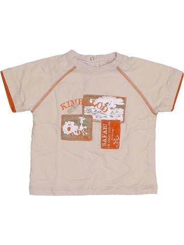 T-shirt manches courtes garçon KIMBALOO bleu 12 mois été #1331593_1
