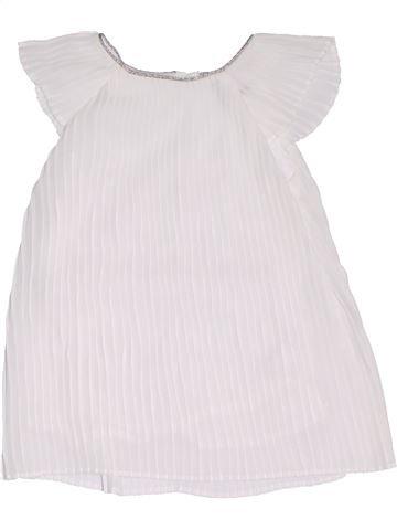 Robe fille KIABI blanc 6 mois été #1331612_1