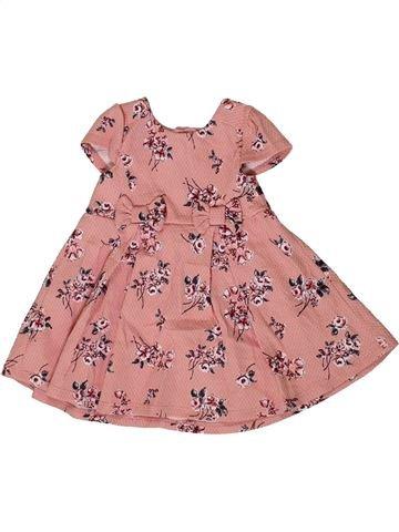 Robe fille MOTHERCARE rose 6 mois été #1331622_1