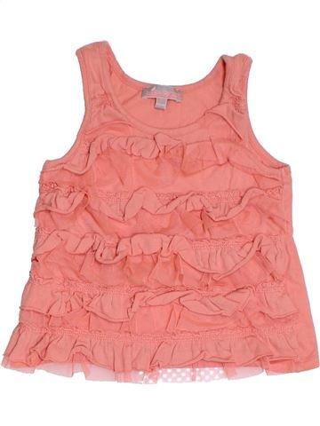 T-shirt sans manches fille LISA ROSE rose 6 mois été #1331767_1