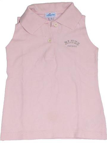 T-shirt sans manches fille CHICCO rose 3 ans été #1331779_1