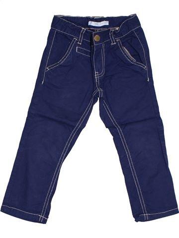 Pantalon garçon GEMO bleu 3 ans été #1331859_1