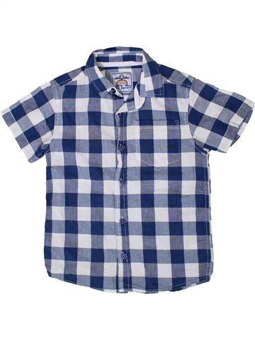 Chemise manches courtes garçon TU bleu 7 ans été #1332615_1