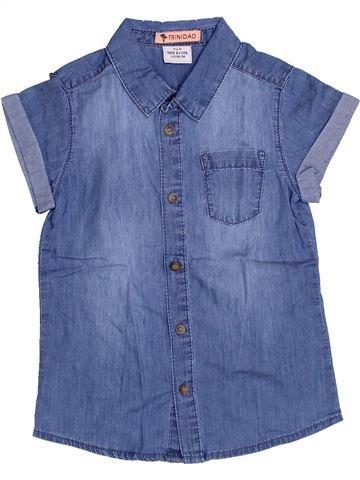 Camisa de manga corta niño TAPE À L'OEIL azul 4 años verano #1332658_1