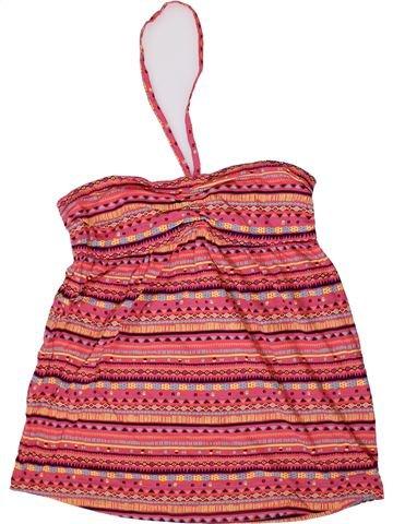 Camiseta sin mangas niña LA REDOUTE CRÉATION rosa 14 años verano #1332770_1