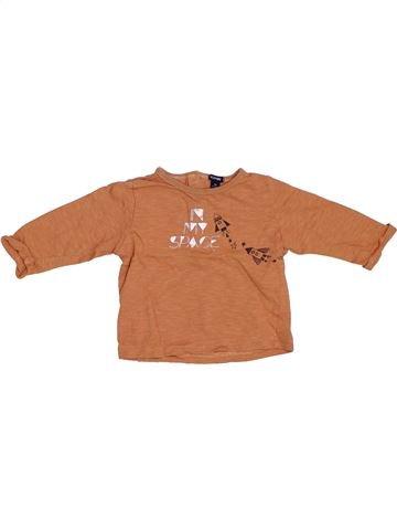 Camiseta de manga larga niño KIABI naranja 9 meses invierno #1332838_1
