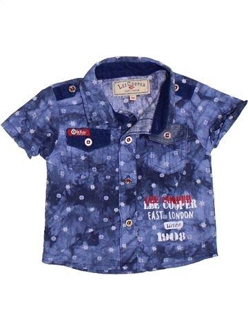 Camisa de manga corta niño LEE COOPER azul 3 meses verano #1332988_1