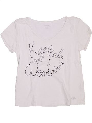 Camiseta de manga corta niña DDP blanco 14 años verano #1333026_1