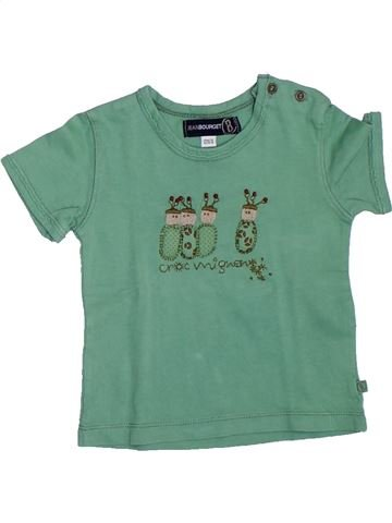 Camiseta de manga corta niña JEAN BOURGET verde 12 meses verano #1333248_1