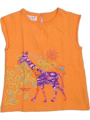 Camiseta sin mangas niña LA COMPAGNIE DES PETITS naranja 3 años verano #1333259_1