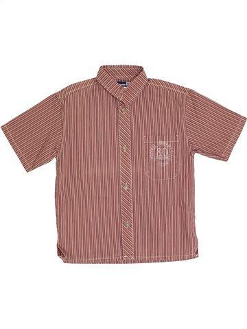 Camisa de manga corta niño JEAN BOURGET marrón 6 años verano #1333441_1