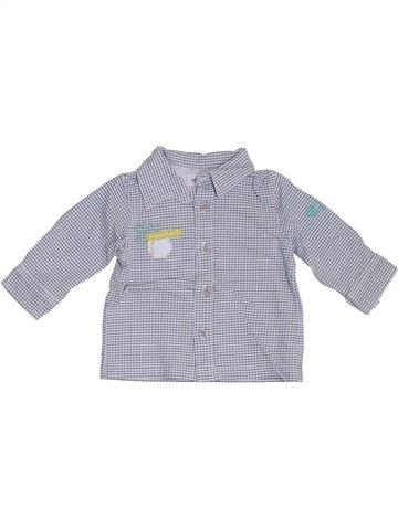 Camisa de manga larga niño MARÈSE gris 3 meses invierno #1333489_1