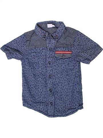 Chemise manches courtes garçon MINI CLUB bleu 5 ans été #1333573_1
