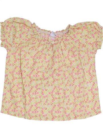 Blusa de manga corta niña PETIT BATEAU rosa 4 años verano #1333808_1