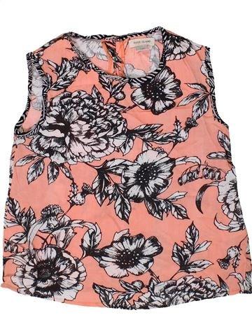 Blusa de manga corta niña RIVER ISLAND rosa 7 años verano #1334167_1