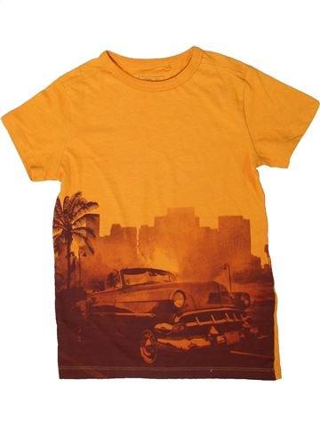 T-shirt manches courtes garçon NEXT orange 7 ans été #1334468_1