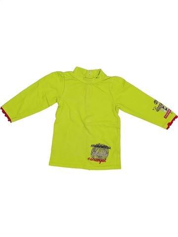 Camiseta de manga larga niña PREMAMAN verde 6 meses invierno #1334780_1