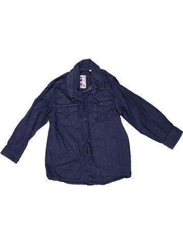 Chemise manches longues garçon TU bleu 3 ans hiver #1334784_1