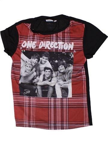 T-shirt manches courtes fille ONE DIRECTION marron 9 ans été #1334948_1